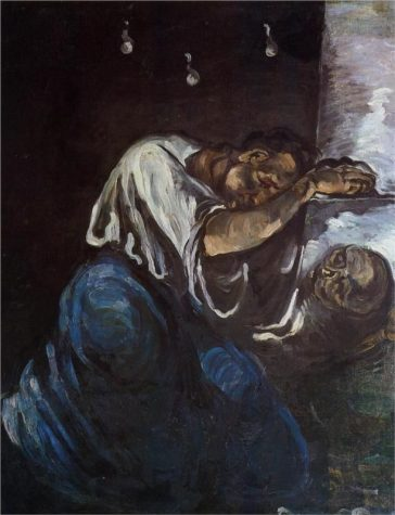 """Sorrow"" by Paul Cézanne, 1867"
